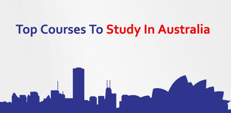 Top Courses To Study In Australia